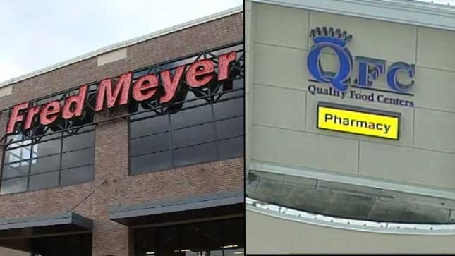 Kroger is the parent company of Fred Meyer and QFC (KPTV File photos)