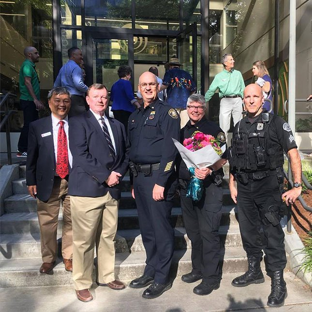 The Portland Police Bureau has been named the Grand Marshal for the 2016 Portland General Electric/SOLVE Starlight Parade. (Facebook / Portland Rose Festival)