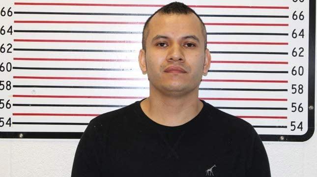Maximo Cruz Figueroa, jail booking photo