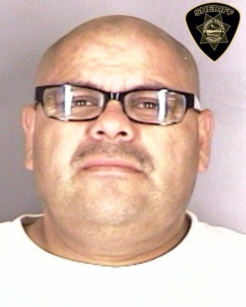 Michael Rascon, jail booking photo not available for Maria Rojas.