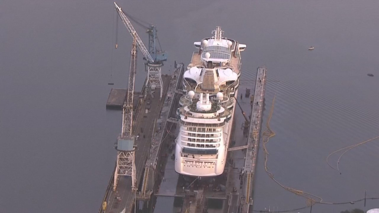 Royal Caribbean Cruise Ship named 'Radiance of the Seas' departs Friday at 8 p.m.