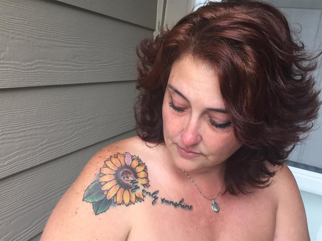 Stephanie Stolzenberger got this tattoo to honor her daughter Cassandra