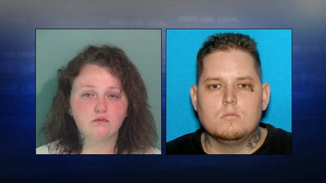 Lacey Mclaren was arrested on a warrant following the Highway 194 crash; Jason Greer had a warrant and ran away from the scene, according to police. (Photos: OSP)