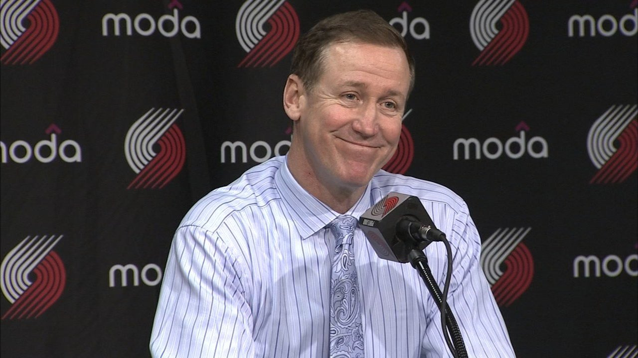 Trail Blazers coach Terry Stotts (FOX 12 file image)