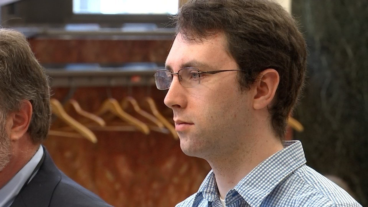 Jacob Walters in court Tuesday (KPTV)