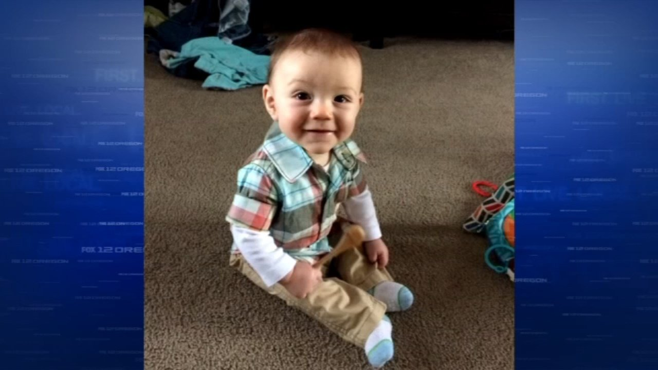 Seven-month-old Izaak Gillen died in April 2015 (Family photo/KPTV)