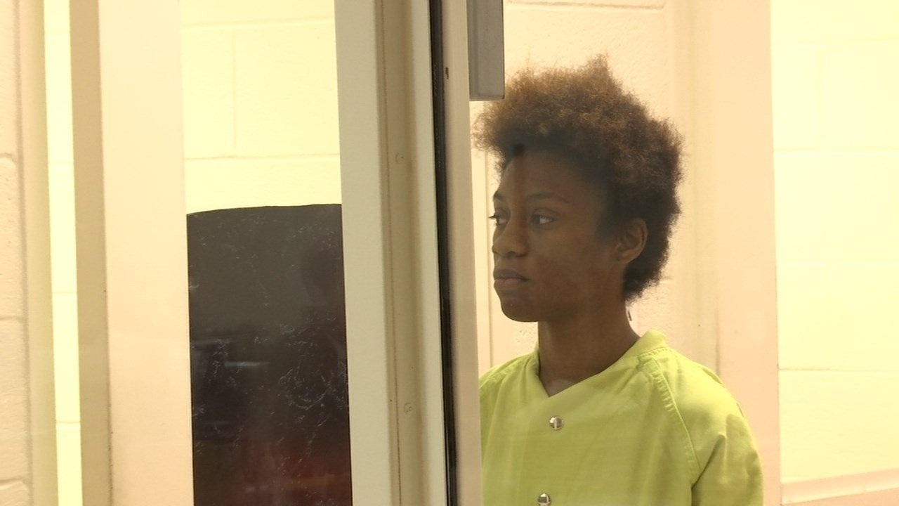 Tannekqwa Thompson, 18, appeared in court Tuesday for arraignment. (KPTV)