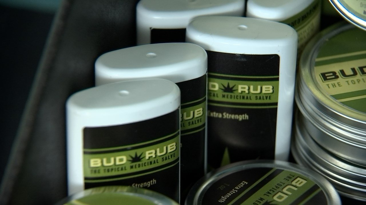 Some users of cannabis topicals say the treatment is an effective alternative to opioids like percocet and vicodin. (KPTV)