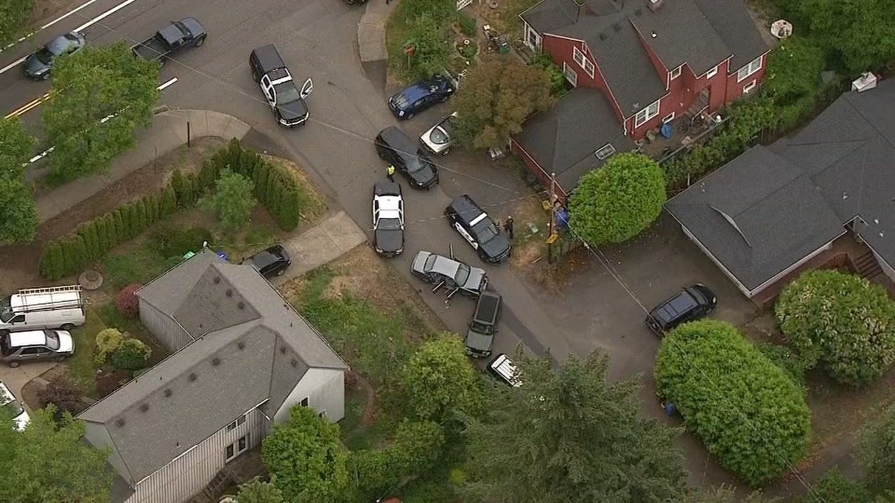 AIR 12 view of where the crash ended (KPTV)
