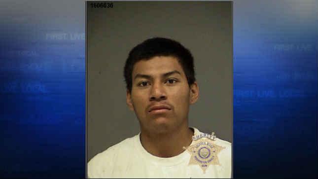 Cerefino Santos booking photo (Courtesy: Washington County Jail)