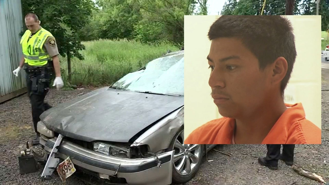 Ceferino Santos, 22, faces a charge of hit and run following an incident that sent a 13-year-old to OHSU with minor injuries. (KPTV)