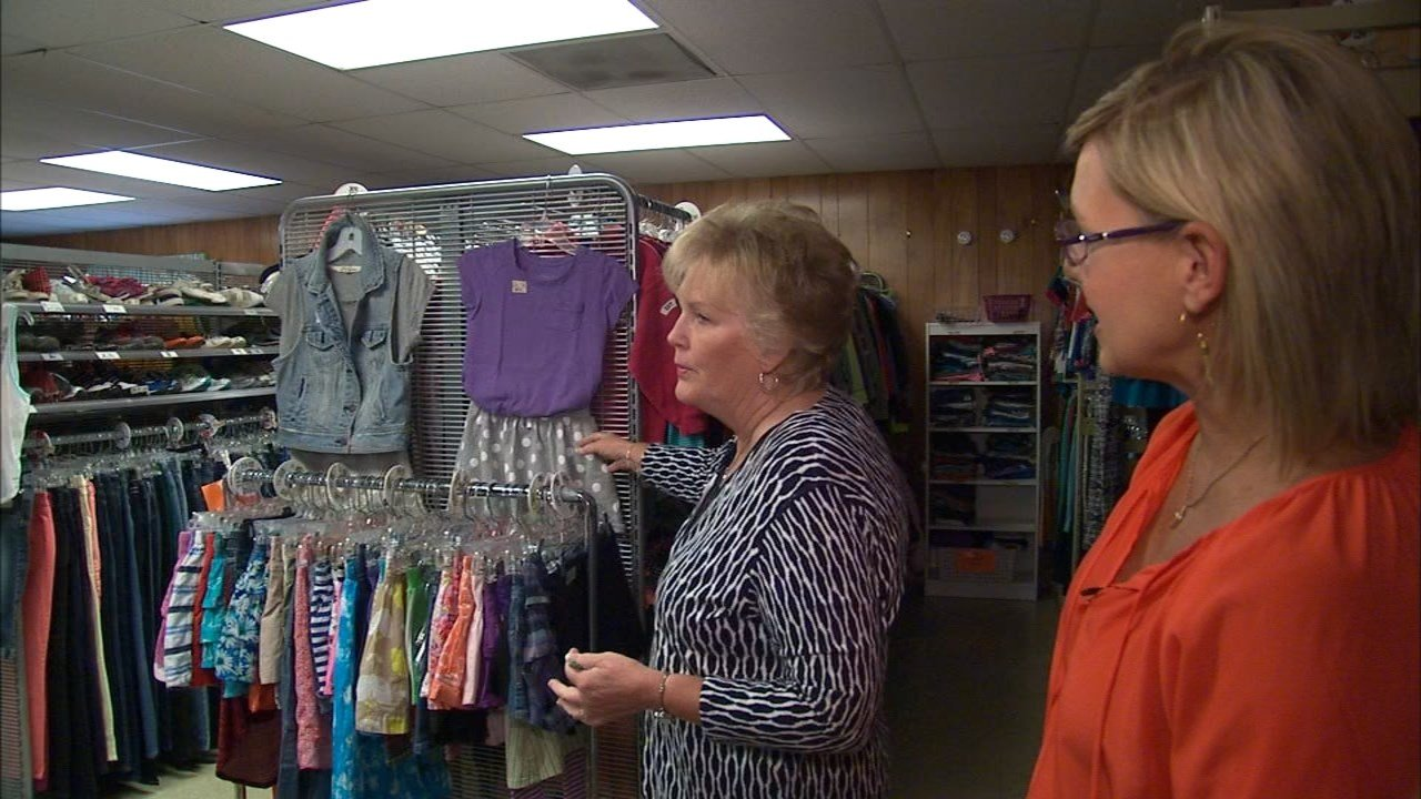 Marilyn Hassmann started Caring Closet as a way to help students in Tigard-Tualatin get the items they need to be confident in going to school. (KPTV)