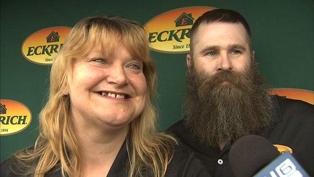Cathie and Dan Hanner (KPTV)
