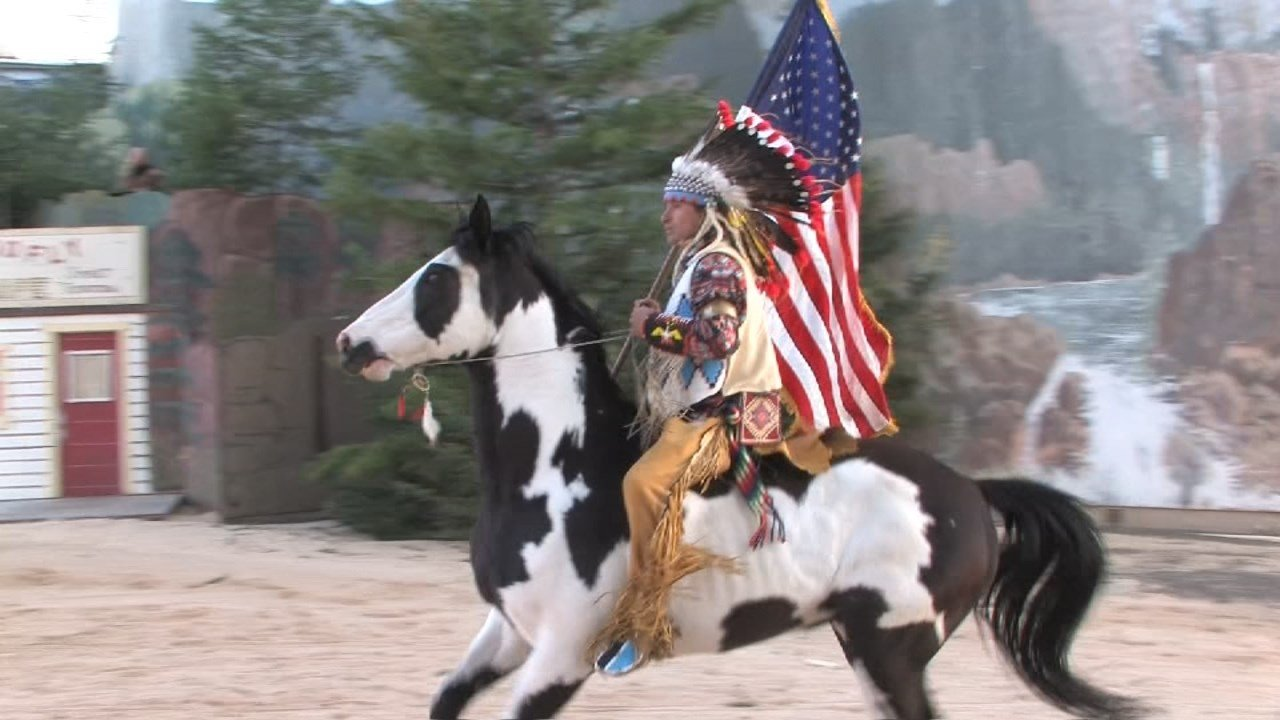 Chinook and rider Bryson Bronson. (KPTV)