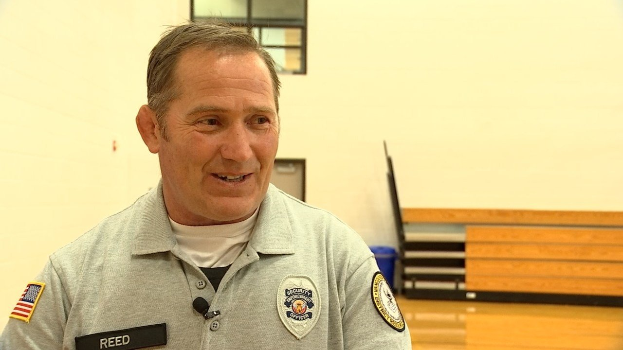 Security Officer Joe Reed (KPTV)