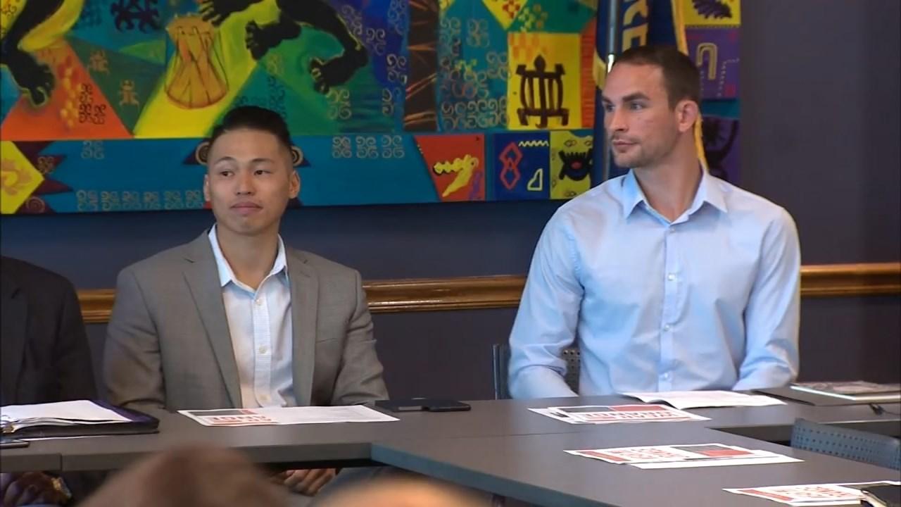 Sang Dao and Noah Shultz (KPTV)