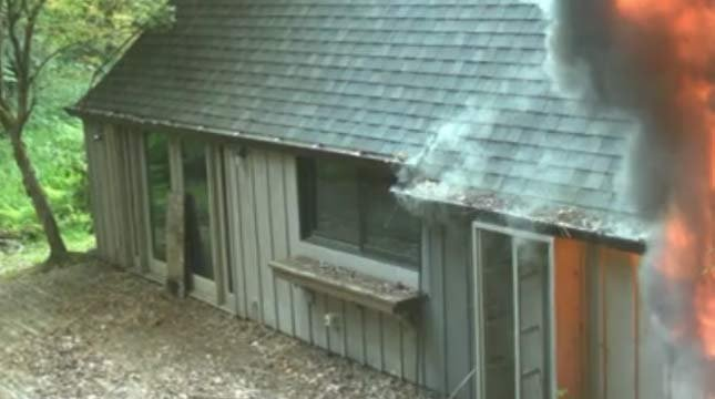 Fire set to home on property owned by Tualatin Hills Park & Recreation District Surveillance image of arson suspect (Photo: Washington County Sheriff's Office)