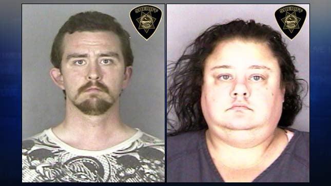 Jestahn Jackson, Tiffany Wicke (jail booking photos)