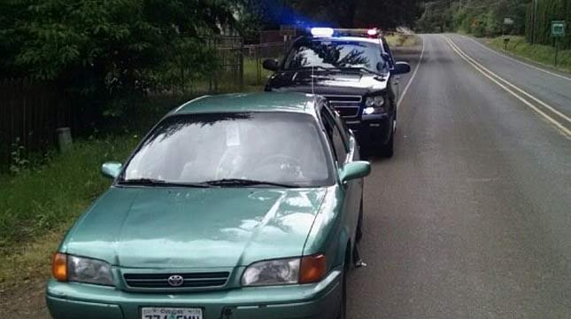 The burglary suspects were caught after driving away from the Salem area home (Source: Marion County Sheriff's Office)