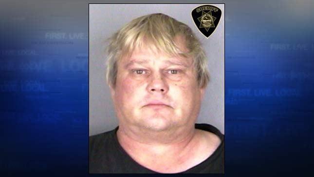 Larry Edwards, jail booking photo