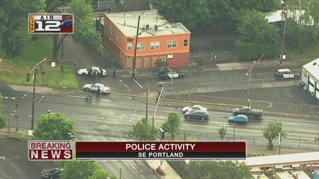 Police activity closes large area in southeast Portland