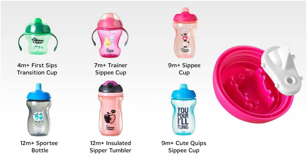 Tommee Tippee is recalling cups because mold can develop in the valve. (Photo: Facebook/Tommee Tippee North America)