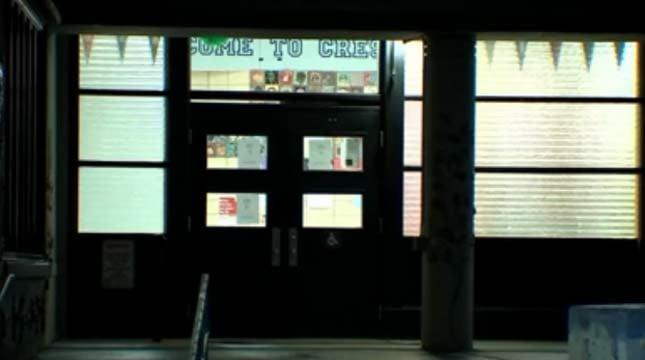 Creston School in southeast Portland (KPTV file image)