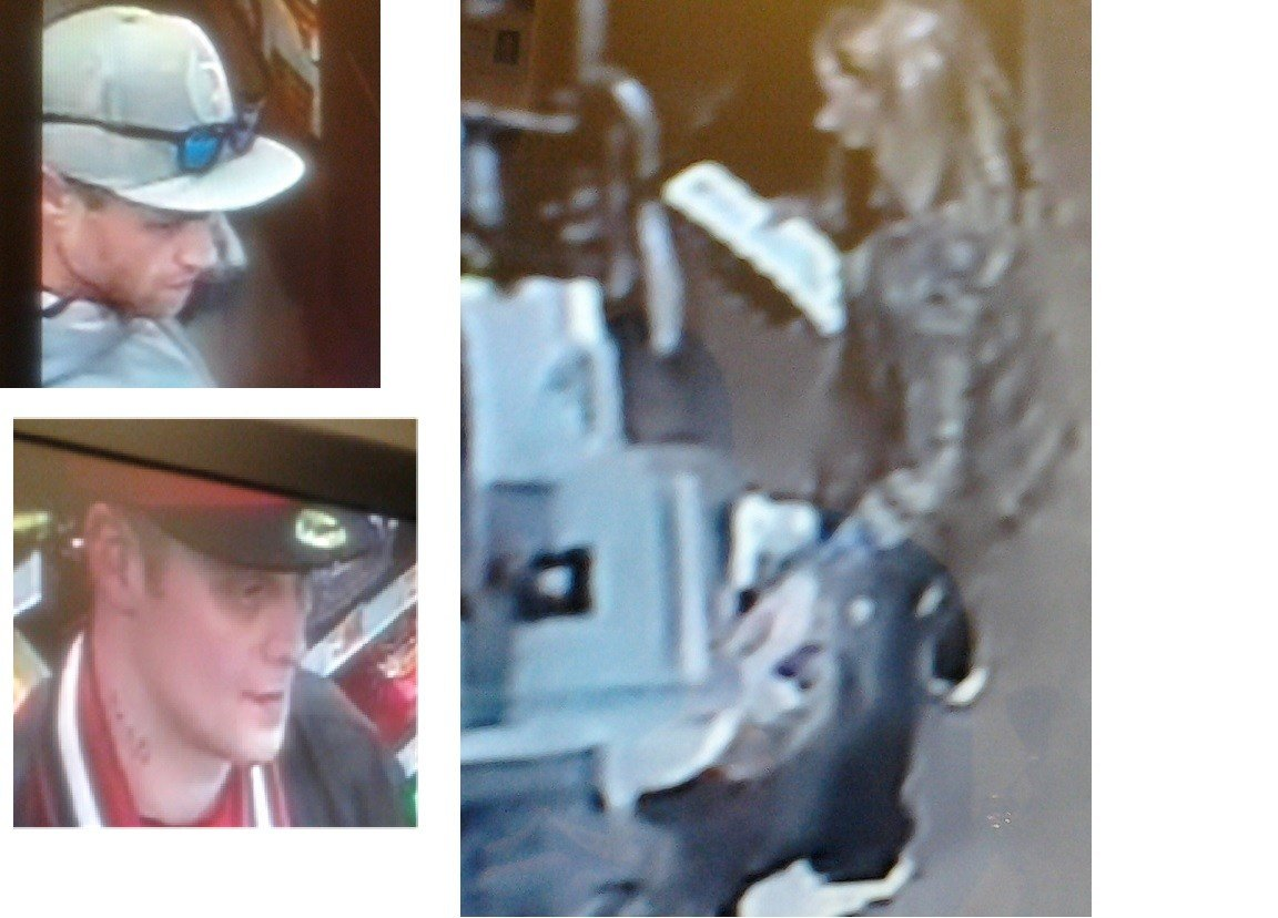 Suspects wanted in smash-and-grab