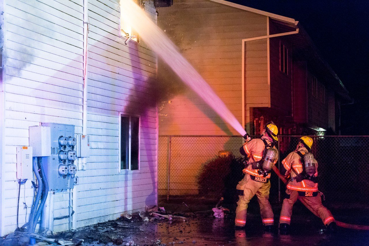 Courtesy: Greg Muhr, Gresham Fire