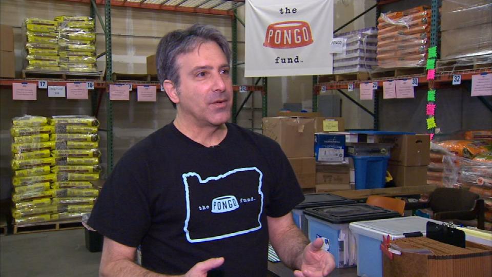 The Pongo Fund founder Larry Chusid (KPTV)