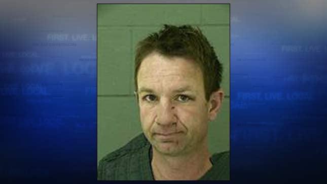 Matthew Irwin, jail booking photo