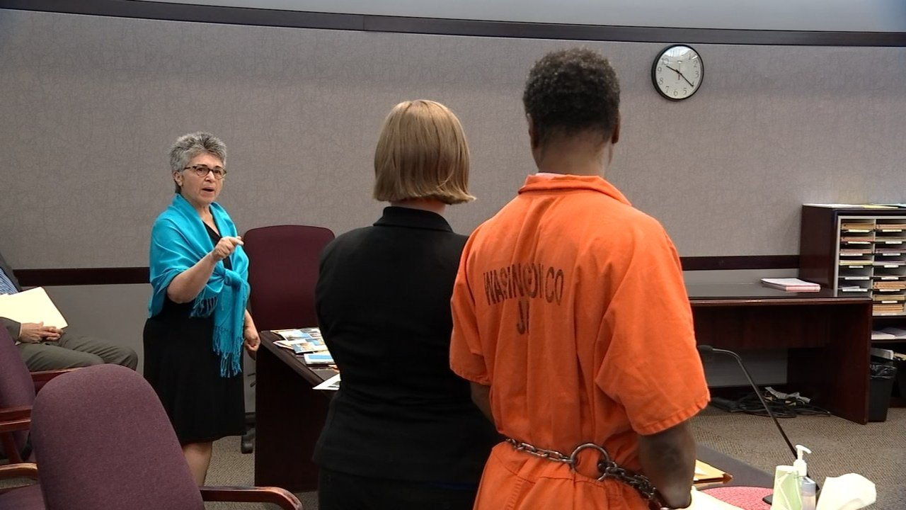 """""""I have been through hell because of you,"""" one woman told Michael Smith in court Wednesday. (Source: KPTV)"""
