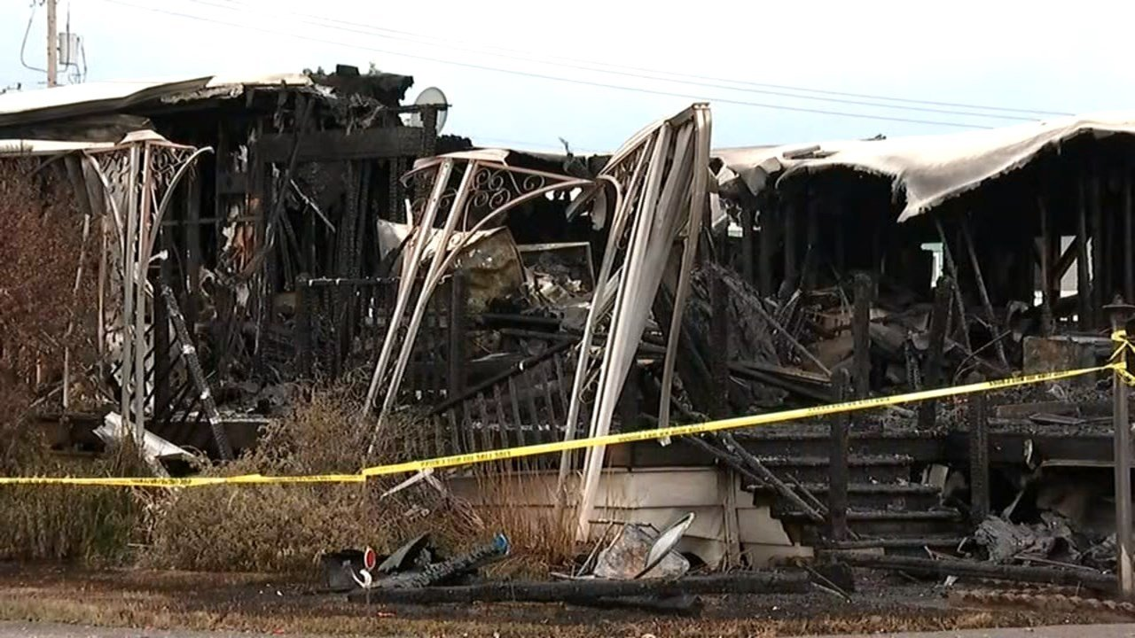 A 75-year-old woman was arrested in connection to the fire. (Source: KPTV)