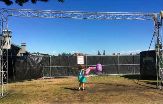 Misting stations will be available at the CityFair this weekend. (KPTV)