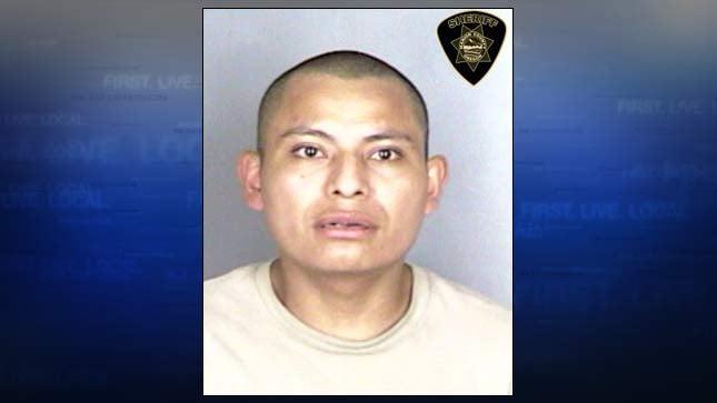 Raul Xalamihua-Espindola, jail booking photo