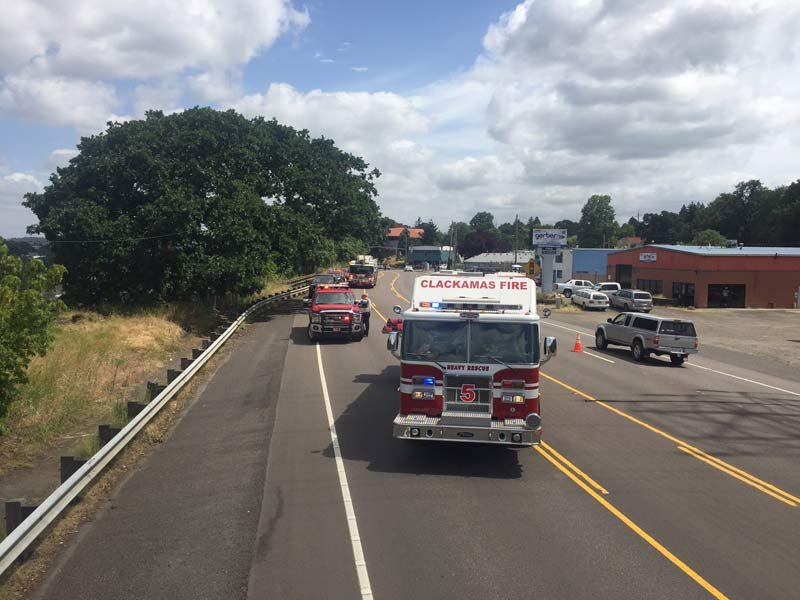 Photo: Clackamas Fire District #1