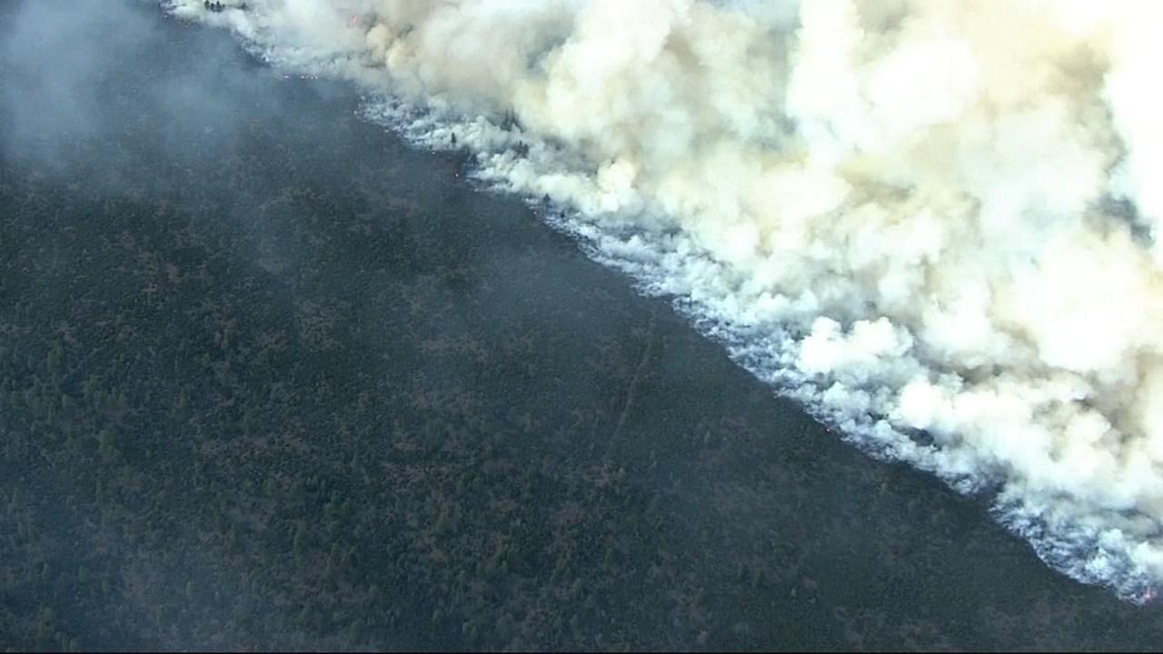 Akawana Fire (Source: KPTV/Air 12)