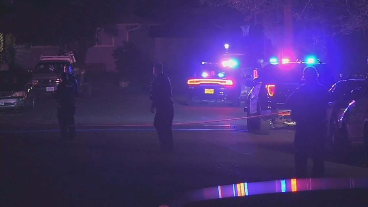 Deadly officer-involved shooting scene in Gresham on May 24. (Source: KPTV)