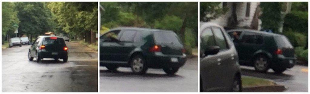"Photo of car involved in ""stranger danger"" incident near Sellwood Middle School. (Photo: Portland Police Bureau)"