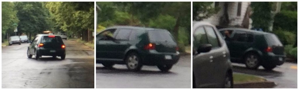 "Photo of car involved in ""stranger danger"" incident near Sellwood Middle School. (Photo: Portland Police Bureau)"