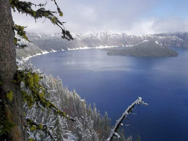 Crater Lake, National Park Service file image