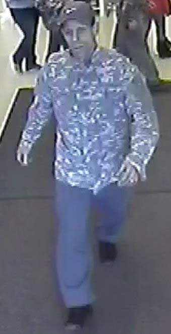 Possible victim of small explosion in Fred Meyer store. Police are seeking to identify him. (Photo: Portland Police Bureau)
