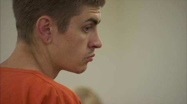 Montgomery Hedges in court Tuesday. (KPTV)