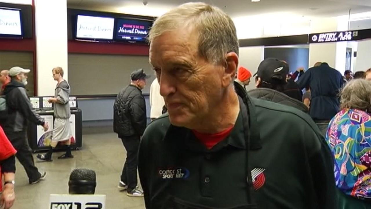 Longtime Blazers broadcaster Mike Rice (KPTV file image)