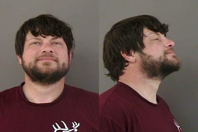 Vincent Wells, jail booking photo