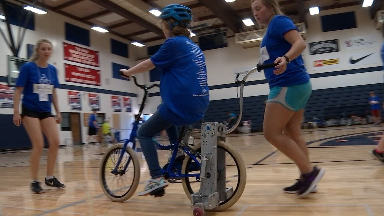 Organizers of Bike First say the camp gives those with challenges a feeling of independence. (KPTV)