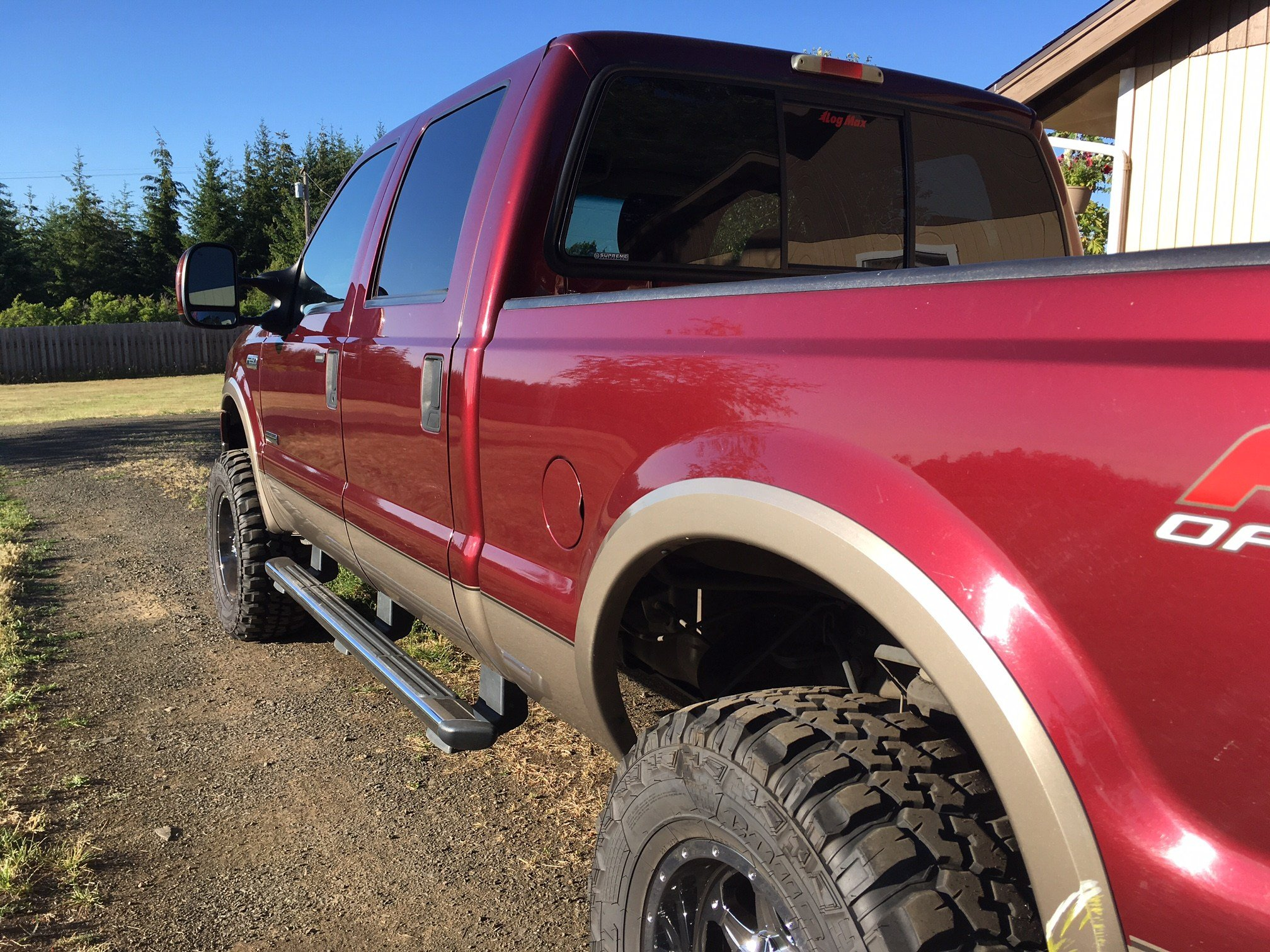 The truck that was stolen from a rural Polk County home Monday, and recovered in Salem Tuesday. (KPTV)