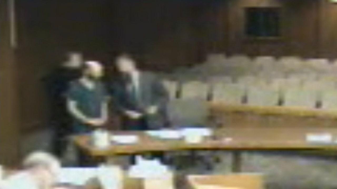 Scheuermann in court on Wednesday (KPTV)