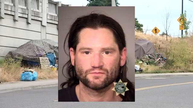 Wesley Farron, jail booking photo (KPTV)