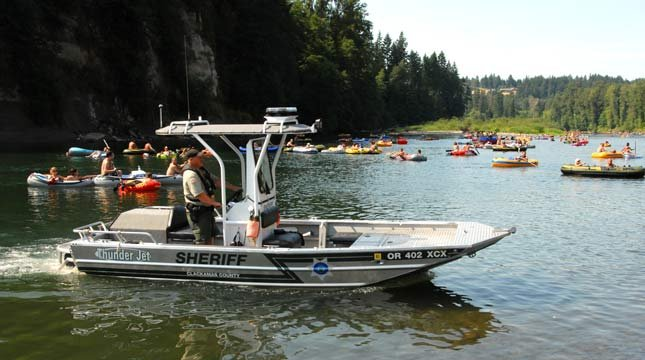 File image: Clackamas County Sheriff's Office Marine Unit